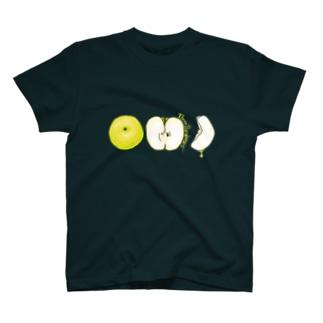 硬水梨と梨ズロゴ両方ついてるよ!Tシャツ T-shirts