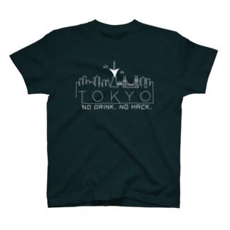 AVTOKYO Tシャツ(白抜き) T-Shirt