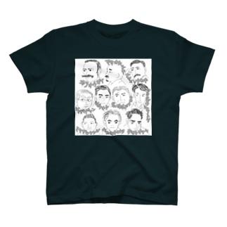 ブンゴウさんたち T-shirts