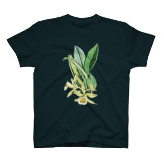 洋ラン<ボタニカルアート> T-shirts