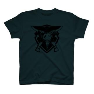 羊頭ククリ T-shirts