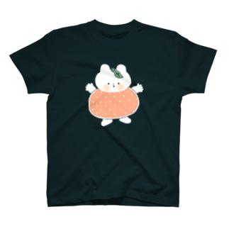 おみかんくまねこちゃん(カラー) T-shirts