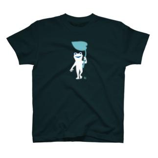 しろッグ・傘 T-shirts