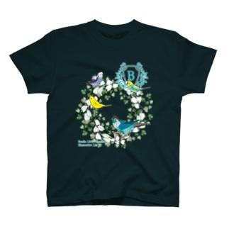 budgies green T-shirts