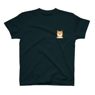 いつもいっしょ(赤柴) T-shirts