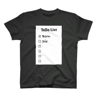 ToDoList Tシャツ