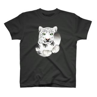 ユキヒョウのしっぽ Tシャツ
