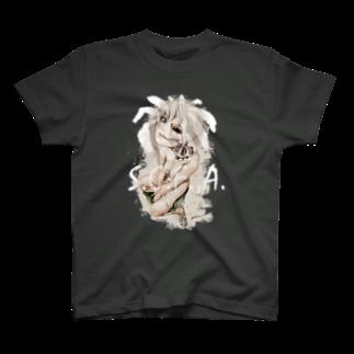 hassegawaのCadaveria on a Toilet Tシャツ