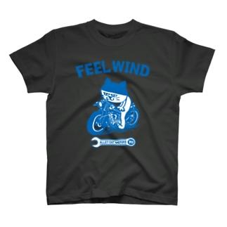 FEEL WIND 〜ドラ猫モータース〜 1 (b) Tシャツ