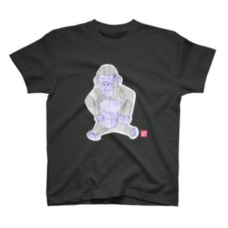 ゴリラさん Tシャツ