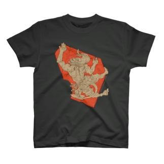 ボル福Ⅰ-赤 Tシャツ