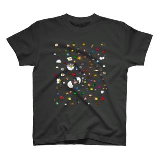 色トリドリ Tシャツ