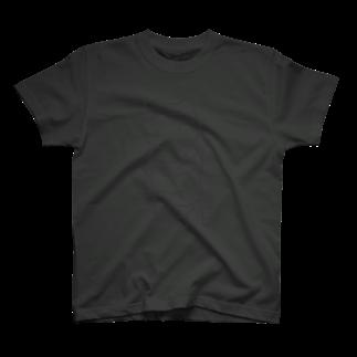 PygmyCat suzuri店の ボンレスニャン(グレー線) Tシャツ