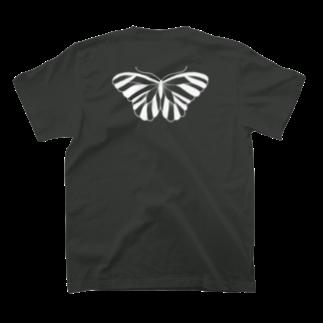anco.の蝶 T-shirtsの裏面