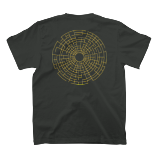 Ninoの太陽系の中心 T-shirtsの裏面