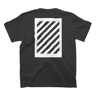 "Vio-Franme™   ""VIOHUMANICFLOWERS""  Directed by Whaison Slash Stripe T-shirts"