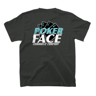 "CRIBAHOLIC ""Poker Face"" T-shirts"