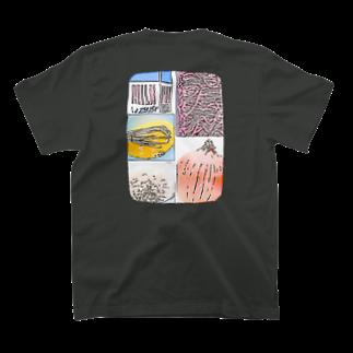 MILKMANIA STOREのHamburger steak T-shirtsの裏面