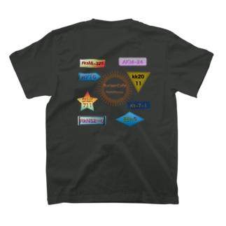 ハンバーガー屋スタッフステッカー T-shirts