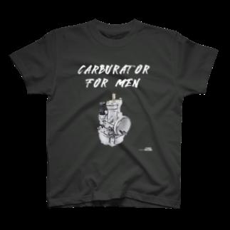 FUNAI RACINGのキャブレター・フォー・メン T-shirts