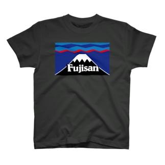 マウント富士 山頂平雪帽子 T-shirts