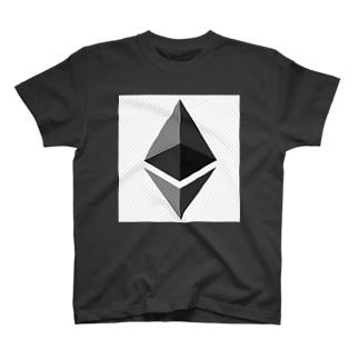 仮想通貨 Ethereum(イーサリアム) T-shirts