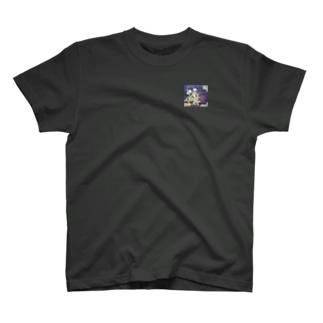 寒菊・花言葉けなげさ 真の強さ T-shirts