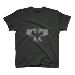 ThalassaのHeart Rocaille T-shirts
