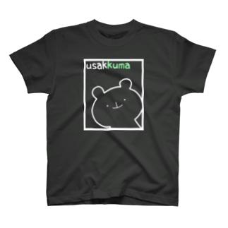 Musikyoto#うさっくまのうさっくま×くま T-shirts