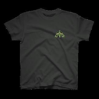 退化現象 硯出張所の夾竹桃雀 T-shirts