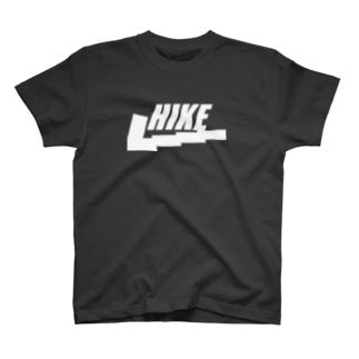 HIKE(ハイキング)黒 T-shirts