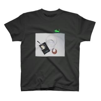 キッチンとカメレオン T-shirts