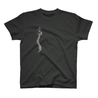 Black-spine T-shirts