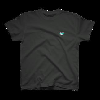 ナナメのナナメ(濃い色) Tシャツ