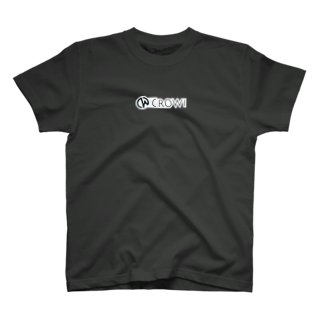 Crowi Fun ShopのCrowi Letter Logo T-shirts
