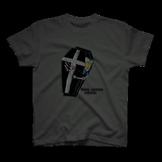 カドルスのサイプレスキャット T-shirts