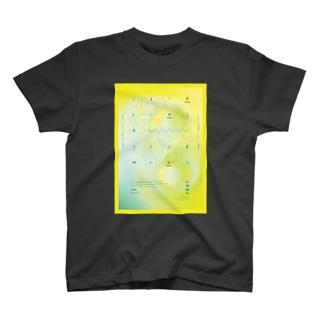 L.L.S.W. イエロー T-shirts