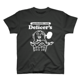 """tunのDelicer's""""デジャブ・バイソン"""" T-shirts"""