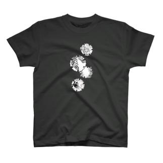 雪輪:異国にて T-shirts