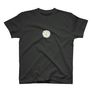 [ユニセックス]ダリア(天竺牡丹) T-shirts