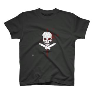 手打ち処たもんや髑髏バージョン T-shirts