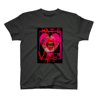 HATE VALENTINE T-shirts