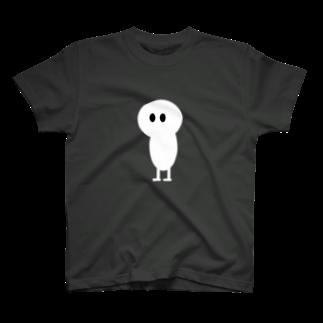 ミワですのイツドコ白 T-shirts