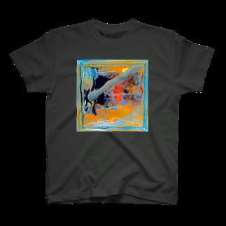 33GaMaのyellow pool T-shirts