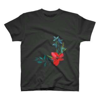 お花Tシャツ T-shirts