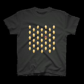 EMOJITOKYOの💩 絵文字 うんちをさがせ🍦 T-shirts