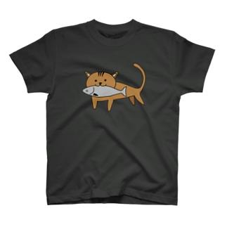 漁港猫 T-shirts