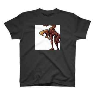 枠に捕らわれたおじさん T-shirts