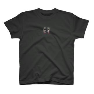 おばけちゃんシスターズ(白フチ)  T-shirts