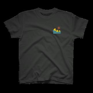 j____unsのアヒル君 T-shirts